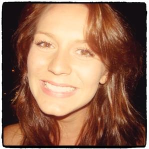 me smiling black frame