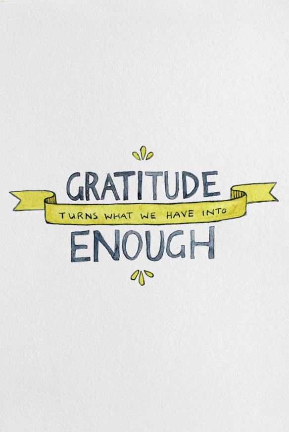 Gratitude List.