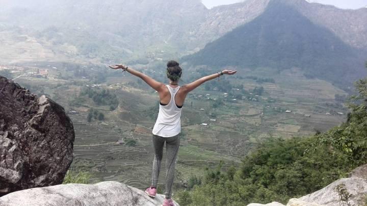 Trekking in Sapa.